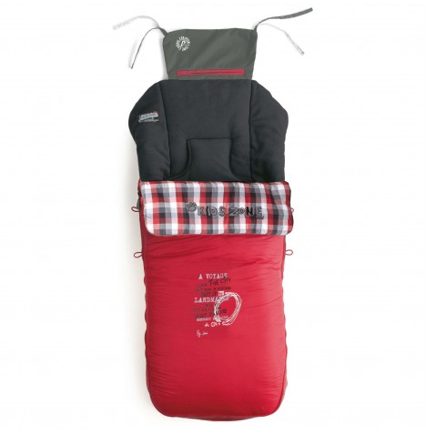 Jane Nest Plus 3in1 Footmuff - Fragment / Red