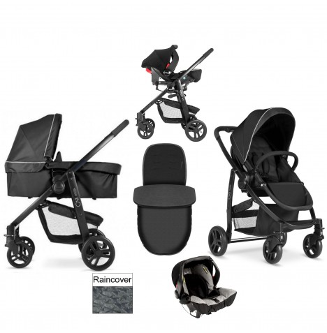 Graco Evo 3 in 1 Carrycot Travel System - Pitstop