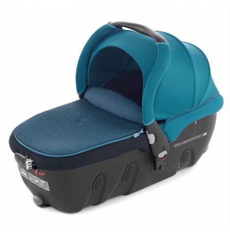 Jane Transporter 2 Group 0 Auto Carrycot / Car Seat - Teal