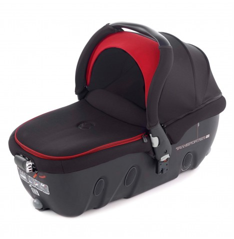 Jane Transporter 2 Group 0 Auto Carrycot / Car Seat - Red