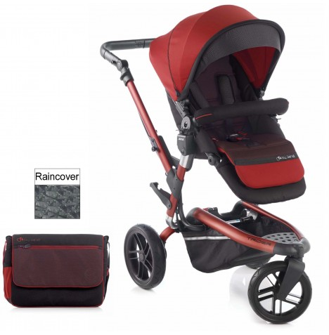 Jane Trider Pushchair - Red