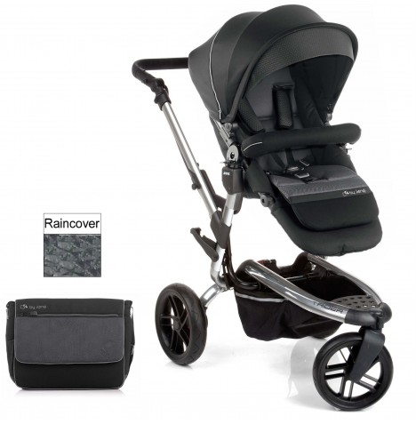 Jane Trider Pushchair - Black / Chrome