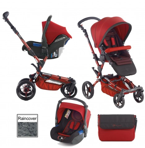 Jane Epic (Koos) Travel System - Red