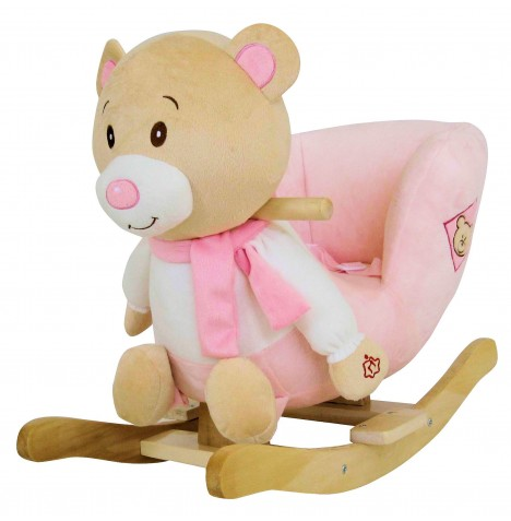 4baby Rocking Teddy - Pink