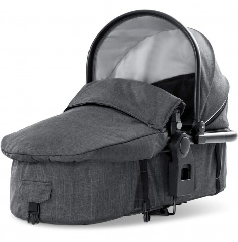 Hauck Duett 3 2nd Carrycot - Melange Charcoal