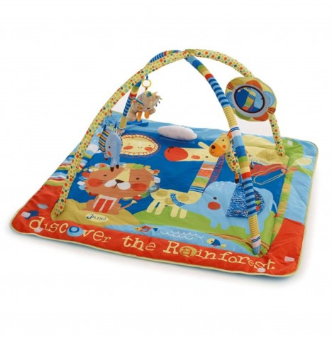 Jane Activity Playmat With Removable Bars & Toys - Roar