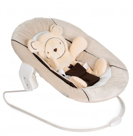 Hauck Alpha 2 In 1 Baby Bouncer Chair - Hearts Beige