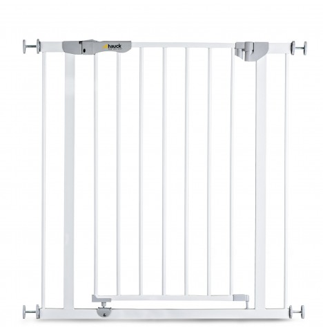 Hauck Autoclose N Stop Metal Pressure Fix Safety Gate - White