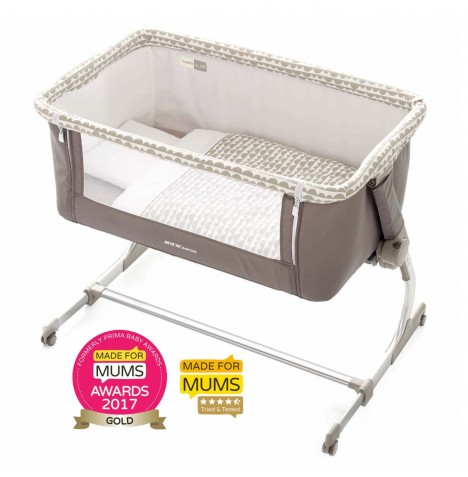 Jane Babyside Bedside Crib - Dots