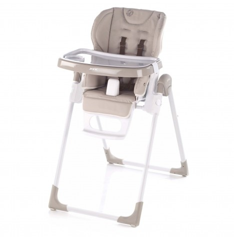 Jane Mila Leatherette Highchair - Cream