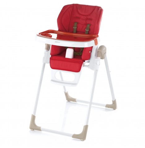 Jane Mila Leatherette Highchair - Red