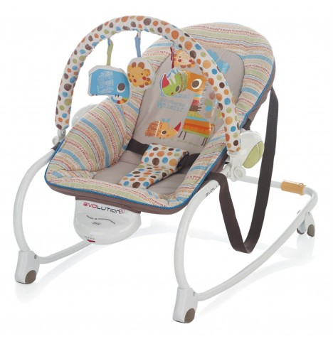 Jane Evolution Musical Rocker & Toddler Chair - Savannah