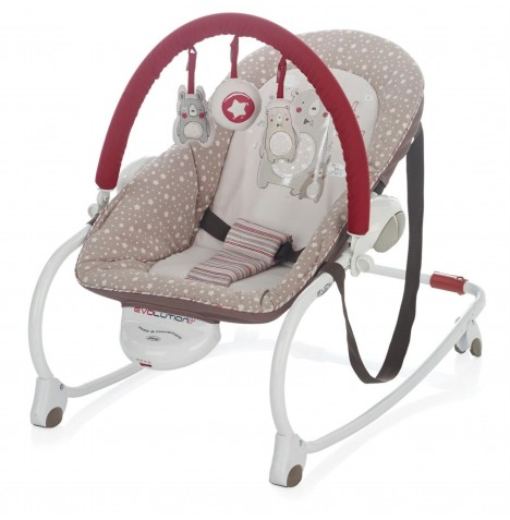 Jane Evolution Musical Rocker & Toddler Chair - Artic
