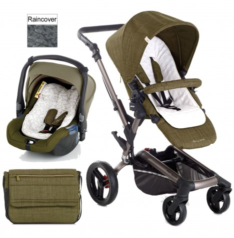 Jane Rider (Koos) Travel System - Woods
