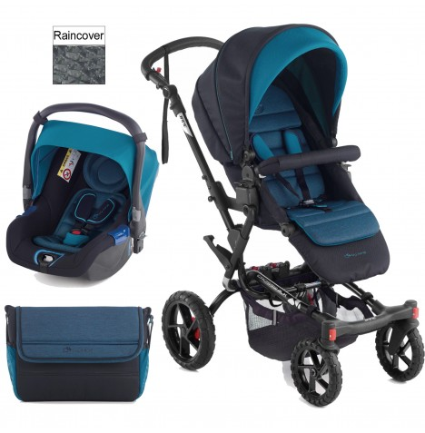 Jane Crosswalk (Koos) Travel System - Teal