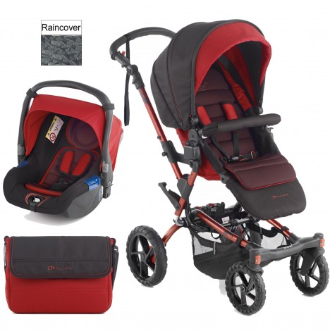 Jane Crosswalk (Koos) Travel System - Red
