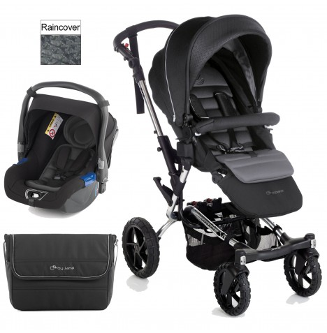 Jane Crosswalk (Koos) Travel System - Black