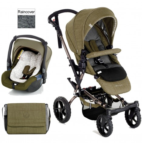 Jane Crosswalk (Koos) Travel System - Woods
