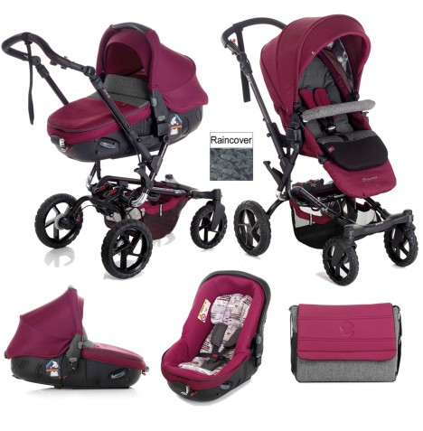 Jane Crosswalk (Matrix) Travel System - Geyser