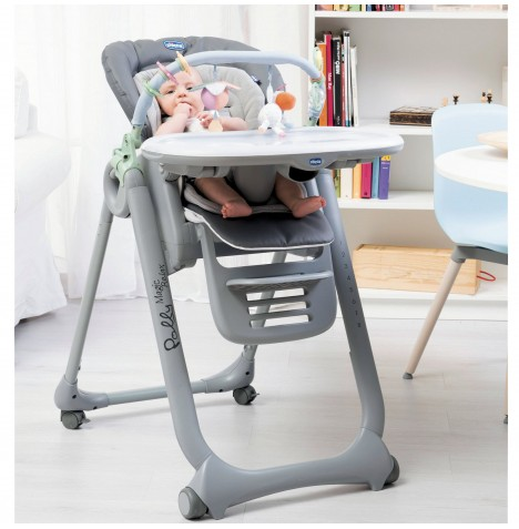 Chicco Polly Magic Relax Highchair - Anthracite