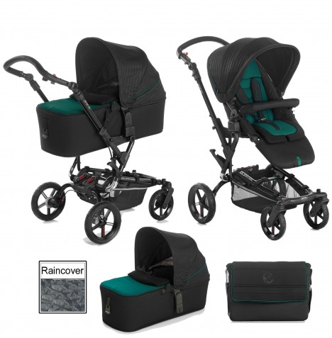 Jane Epic Pushchair & Micro Carrycot - Sequoia