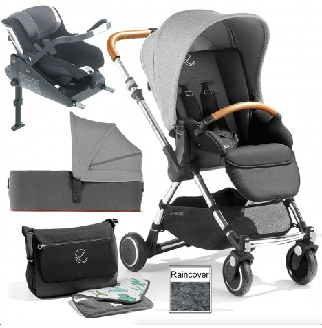 Jane Minnum SE iKoos (iSize) Travel System & Micro Carrycot - Cactus