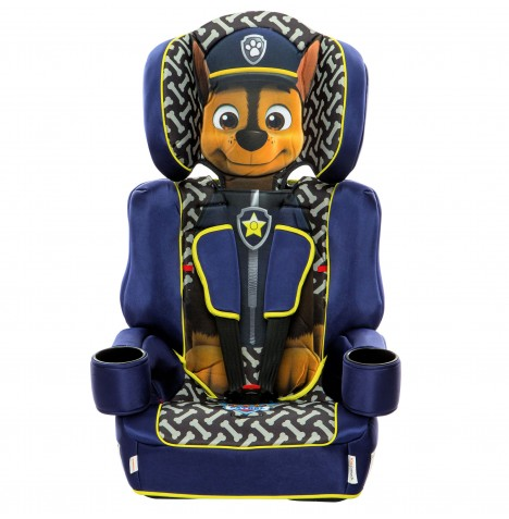 Kids Embrace Group 1,2,3 Booster Car Seat - Paw Patrol (Chase)