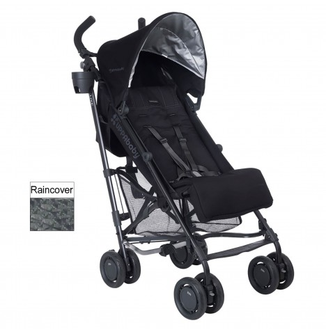 Uppababy G-Luxe Pushchair Stroller - Jake Black
