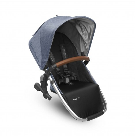 Uppababy RumbleSeat / Vista 2nd Seat Unit - Henry Blue Marl
