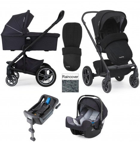 Nuna Mixx Travel System & Isofix Base - Jett