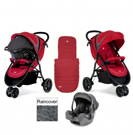 Joie Litetrax 3 (iGemm) Travel System - Apple