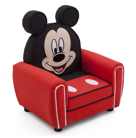 Delta Children Upholstered Figural Chair - Disney Mickey Mouse