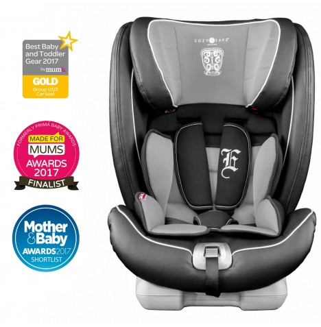 Cozy N Safe Excalibur Group 1/2/3 Isofix Car Seat - Black / Grey