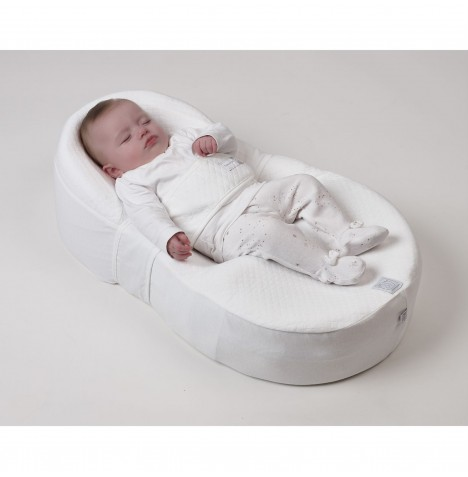 Cocoonababy Nest (Limited Edition) - White / Grey Stars