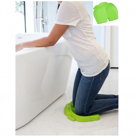 Bumbo Elipad Kneeling Mat / Childs Floor Seat - Lime