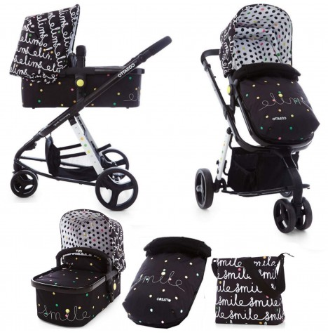 Cosatto Giggle 2 Combi 3 in 1 Pushchair - Smile