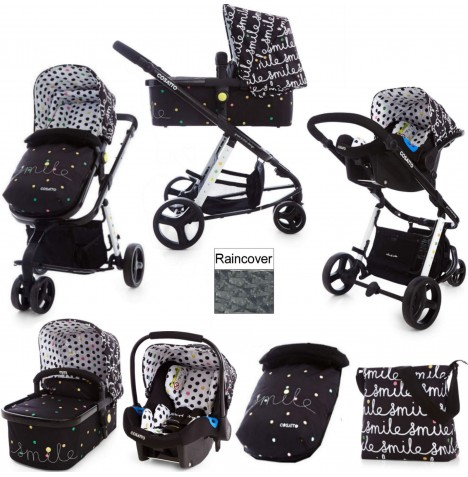 Cosatto Giggle 2 Combi 3 in 1 Travel System - Smile