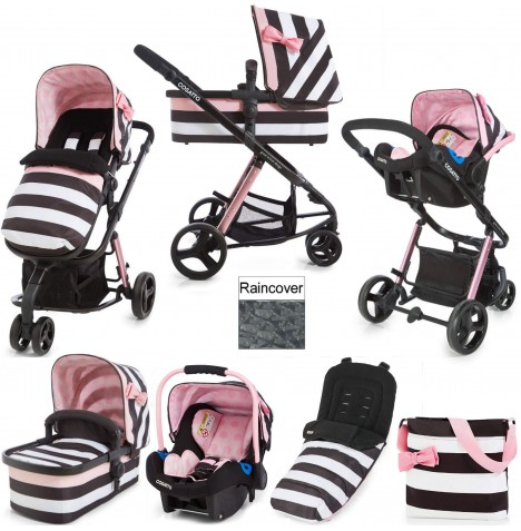 Cosatto Giggle 2 Combi 3 in 1 Travel System - Go Lightly 3