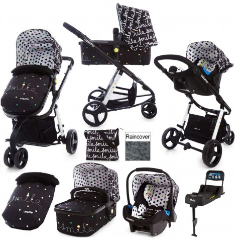 Cosatto Giggle 2 Travel System & Isofix Base - Smile