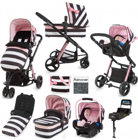 Cosatto Giggle 2 Travel System & Isofix Base - Go Lightly 3