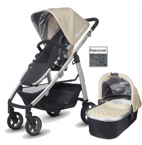 Uppababy Cruz Pushchair & Carrycot - Lindsey Wheat