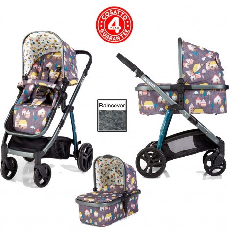 Cosatto Wow 3 in 1 Combi Pram / Pushchair - Hygge Houses
