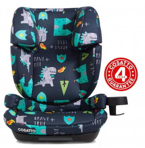 Cosatto Skippa Fix Group 2,3 Car Seat - Dragon Kingdom