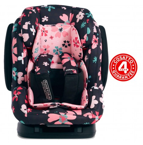 Cosatto Hug Group 123 ISOFIX Car Seat - Paper Petals
