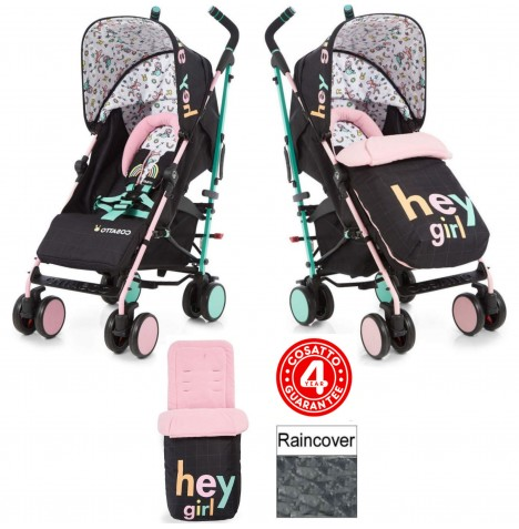 Cosatto Supa 2018 Pushchair Stroller - Hey Girl