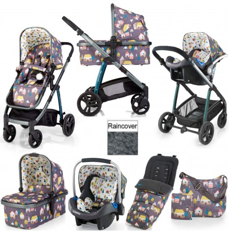 Cosatto Wow 3 in 1 Combi Travel System With Accessories - Hygge Houses