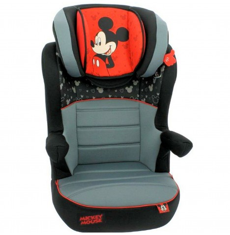 Nania Deluxe Disney Rway Group 2/3 High Back Booster Car Seat - Mickey Mouse