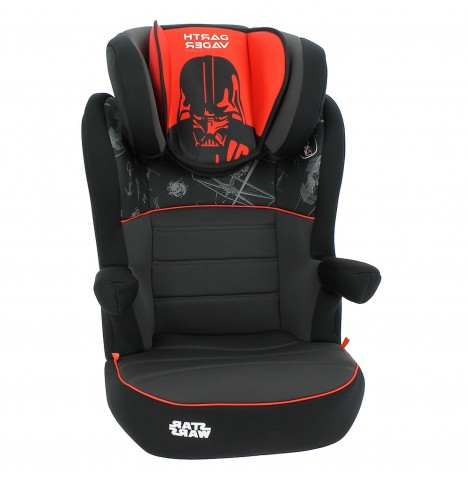 Nania Deluxe Rway Group 2/3 High Back Booster Car Seat - Darth Vader