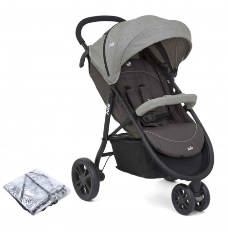 Joie Litetrax 3 Wheel Stroller - Dark Pewter