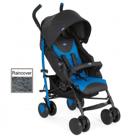 Chicco Echo Pushchair Stroller - Mr Blue